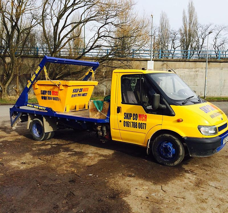 millers tippers for skip hire in manchester