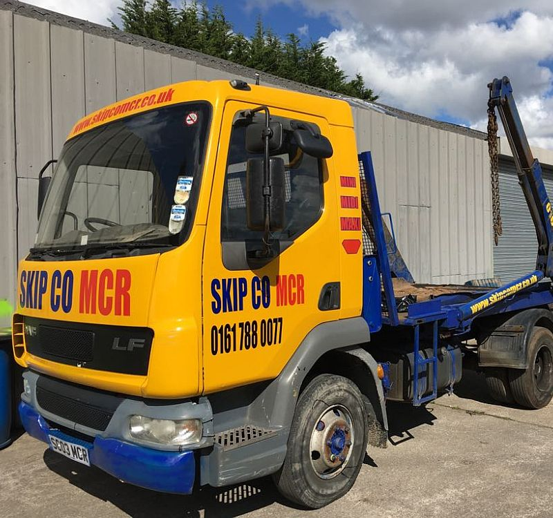 choose millers tippers for plant hire in manchester