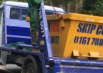 skip delivery in manchester